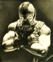 Big Bane (from The Dark Knight Rises) by realisticartsachin