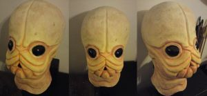 Bith cantina mask by WulWhite