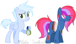 (DT) White Nights And Ruby Breeze by MelodySweetheart