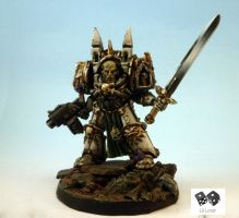 Belial Lord of the Deathwing by lilloser40K