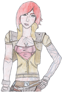 Borderlands Lilith by ThePhatomZero
