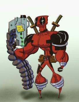 Hey Kids! Its Deadpool! (Applause) by veselin-panayotov