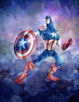 Captain America by TedKimArt