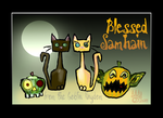Blessed Samhain by hawthorne-cat