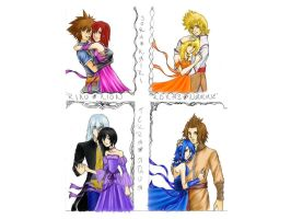 Kingdom Hearts Couples Ver2 by rinounahearts