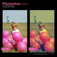 Photoshop Action - Color 016 by primaluce