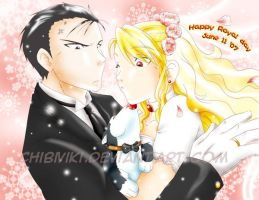 You may kiss the bride... by ChibiViki