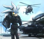 Silver and Helicopters by oLEEDUEOLo