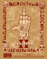 Evil Dead 2 Poster by Sotoman
