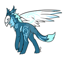 Cyrano the One-Winged Kurion by ProudRyukin13