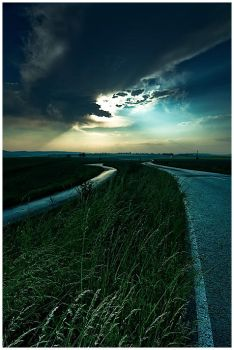 two roads by yv