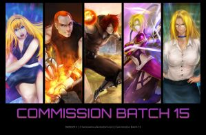 Commission Batch 15 by LarizSantos