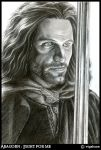 Aragorn: Fight for me by vigshane