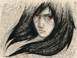 Itachi Uchiha [INK Portrait] by SprinkleSprankles