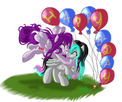 B-Day gift for Randomchick144: A little surprise by Izayoi1265
