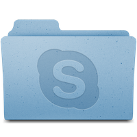 Skype Downloads - Leopard Icon by mind-body-and-soul