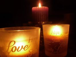 Candle challenge: Message by kharriman