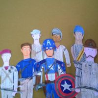 Captain America and the Howling Commandos by movieman410