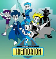 Teenage Robot Tremorton by XJ-0