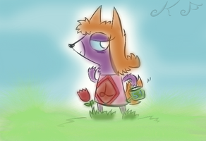 Leanne the Snooty Fox KF by KingFlurry