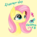 Flutter Shy -normal by KORchristmas