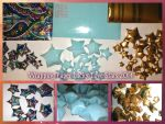 Handmade Wrapping Paper Lucky/Love Stars 2014 by PoeticLotusCreations