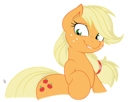 Applejack by Joey-Darkmeat by FiMvisible