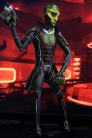 Thane Krios, drell assassin by Fluidfyre