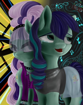 Two parts of a Talent by CometFire1990