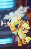 Engineer Applejack by Riznof