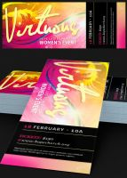 Virtuous Women Church Flyer Photoshop Template by Godserv