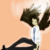 Castiel by alicetherainbow