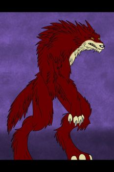 Red Wolf by Frosty-Art