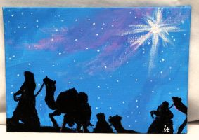 Wise Men Journey by ThisArtToBeYours