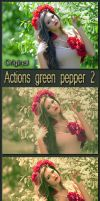 Actions Green Pepper 2 by Tetelle-passion