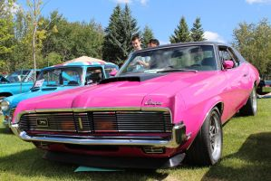 Pink Custom Cougar by KyleAndTheClassics