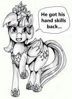 My hand skills are back!!! by The0ne-u-lost