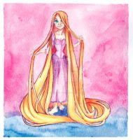 Tangled: Rapunzel by OrangiCat2010