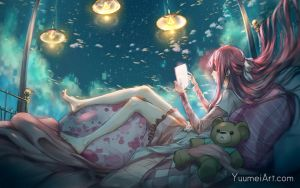 In My Loneliness by yuumei