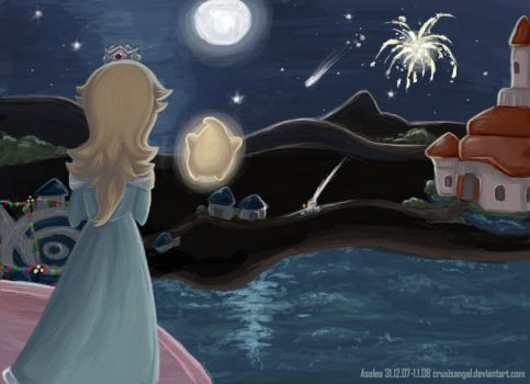 The night of the Star Festival by Aselea