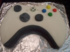 X Box Cake by Pufflover