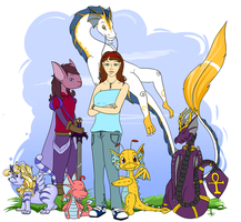 Me and My Neopet Family by susara86