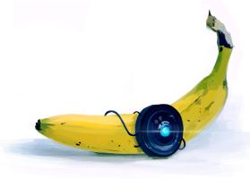 robo banana by Bawarner