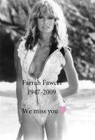 Memory of Farrah Fawcett by the-Sleuth