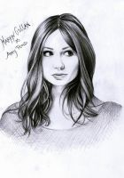 Doctor Who Karen Gillan by Mizz-Depp