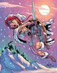 Red Sonja- In COLOR by tombancroft