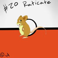 Raticate by Laxmortaxbella