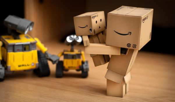 Danbo - Father and Son by shoggy