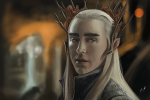 Thranduil by SpartanK42