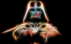 Psychedelic Vader by JVelorio